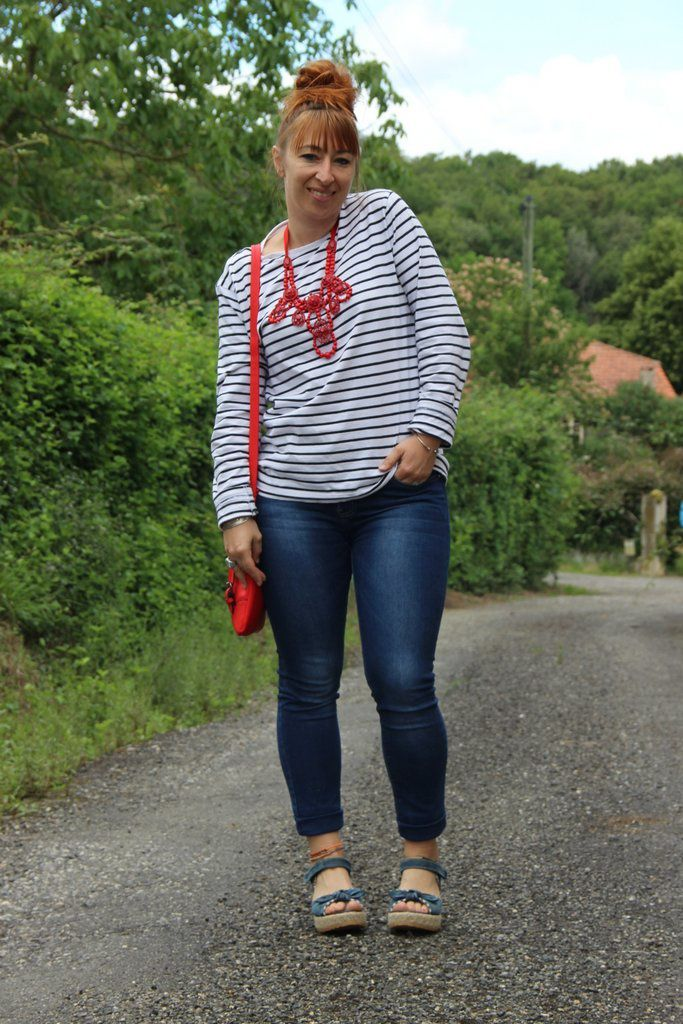 Jeans &amp&#x3B; marinière