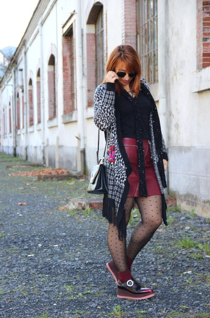 Tricot Vibes &amp&#x3B; Burgundy style !