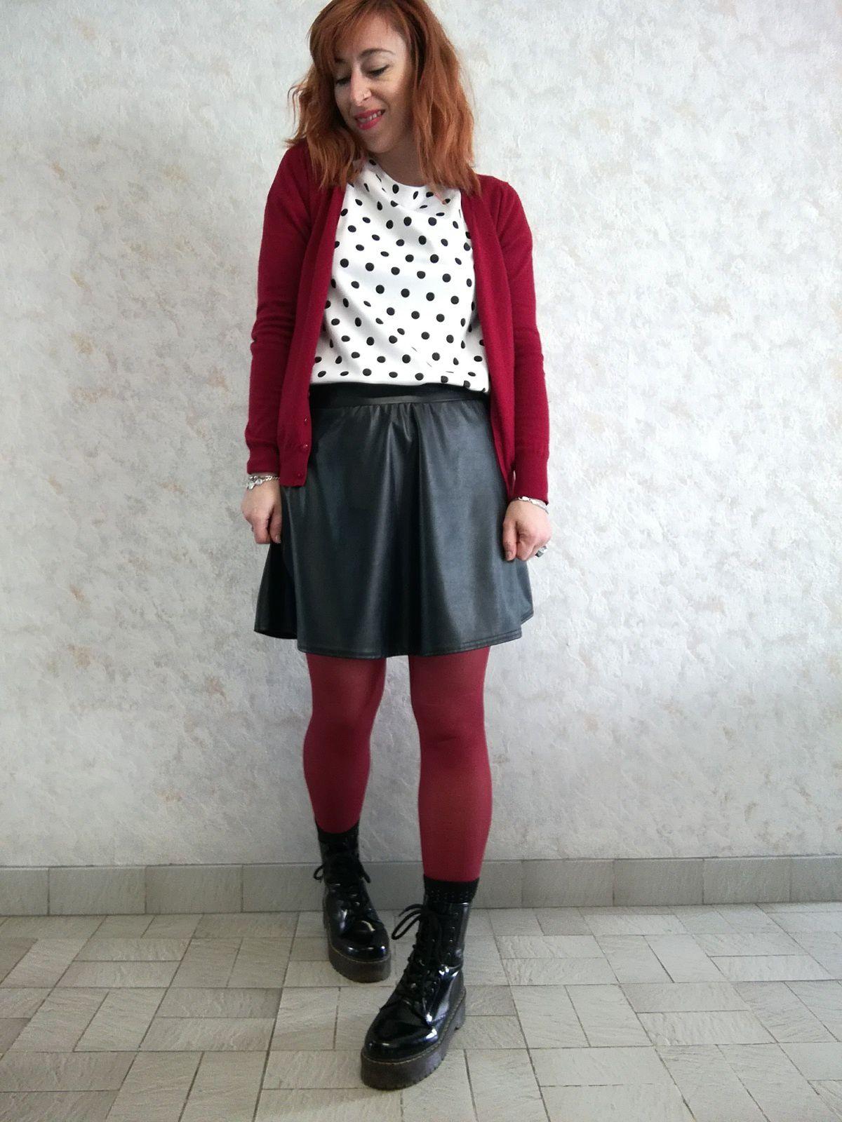La jupe simili, un basique !