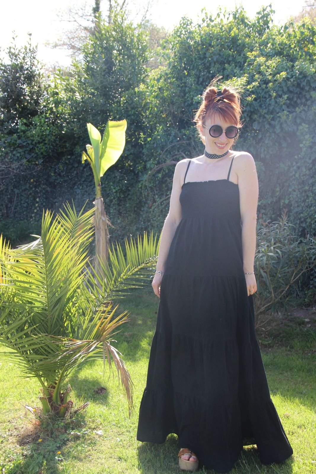 La robe longue noire