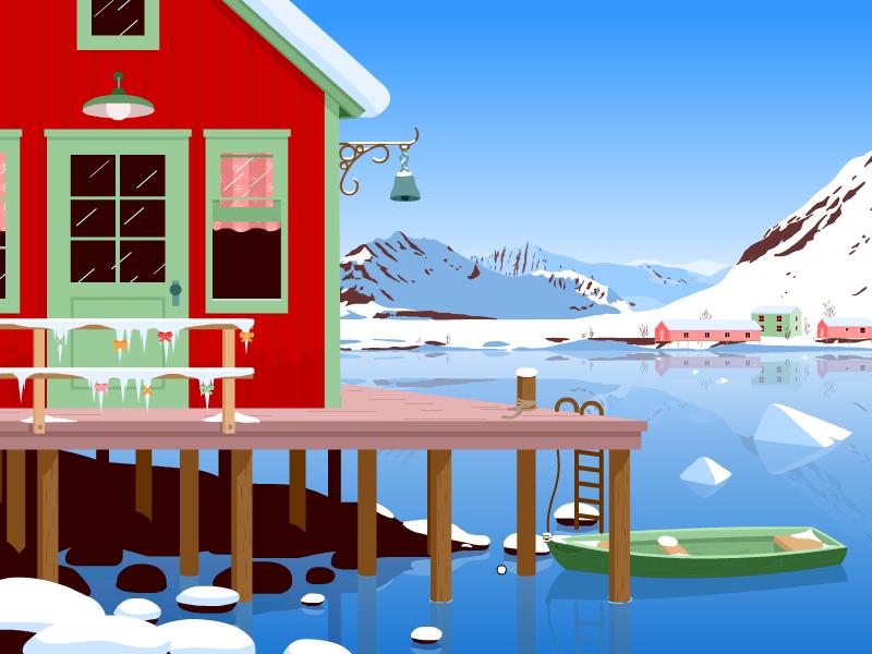 En février prochain, Toboclic part dans les fjords...