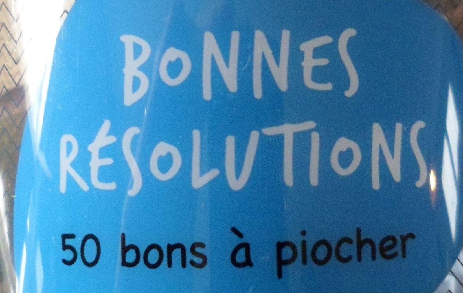 Bonnes résolutions #25