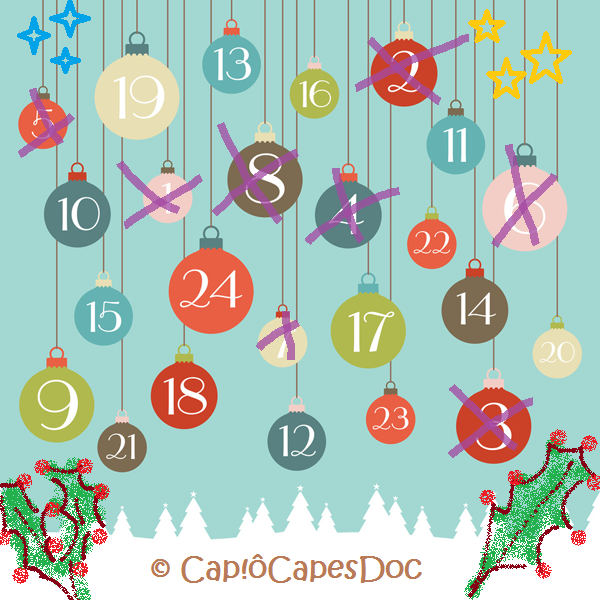 Calendrier de l'Avent &quot&#x3B;on the blog&quot&#x3B; #8