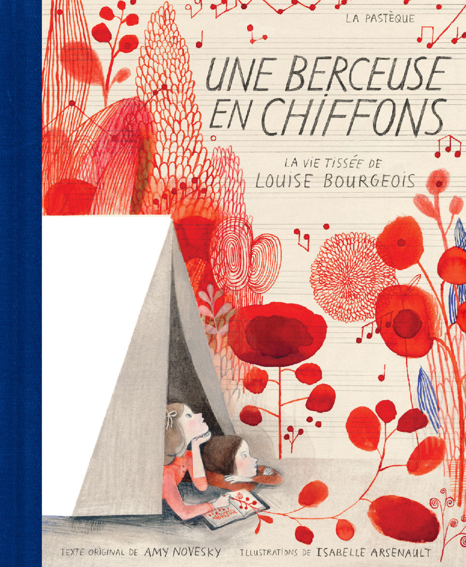 berceuse chiffons tissée Louise Bourgeois