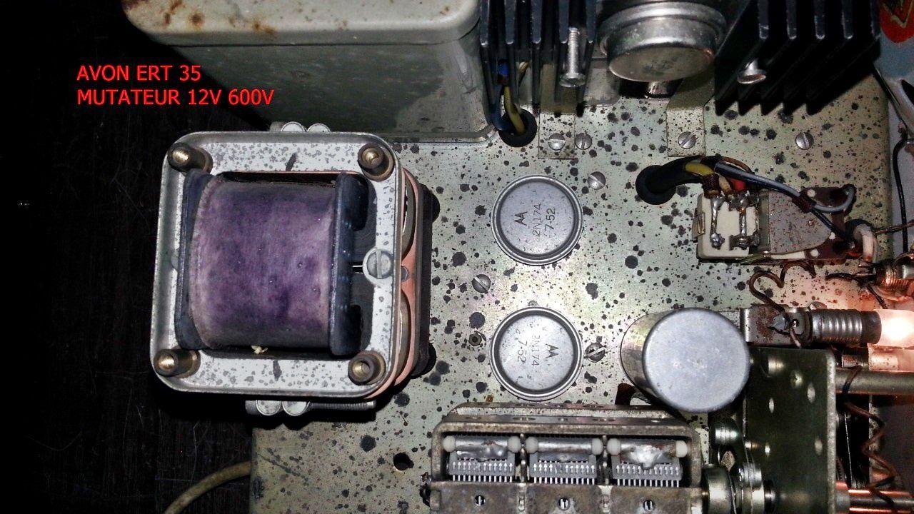 radio téléphone AVON ERT 35