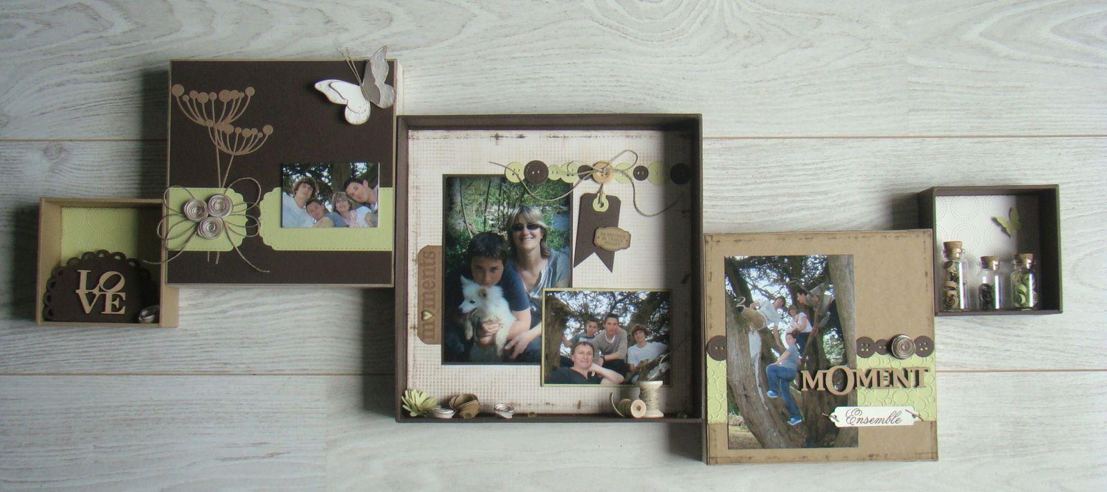 deco cadre photo cheap deco cadres photos mur dans un. Black Bedroom Furniture Sets. Home Design Ideas