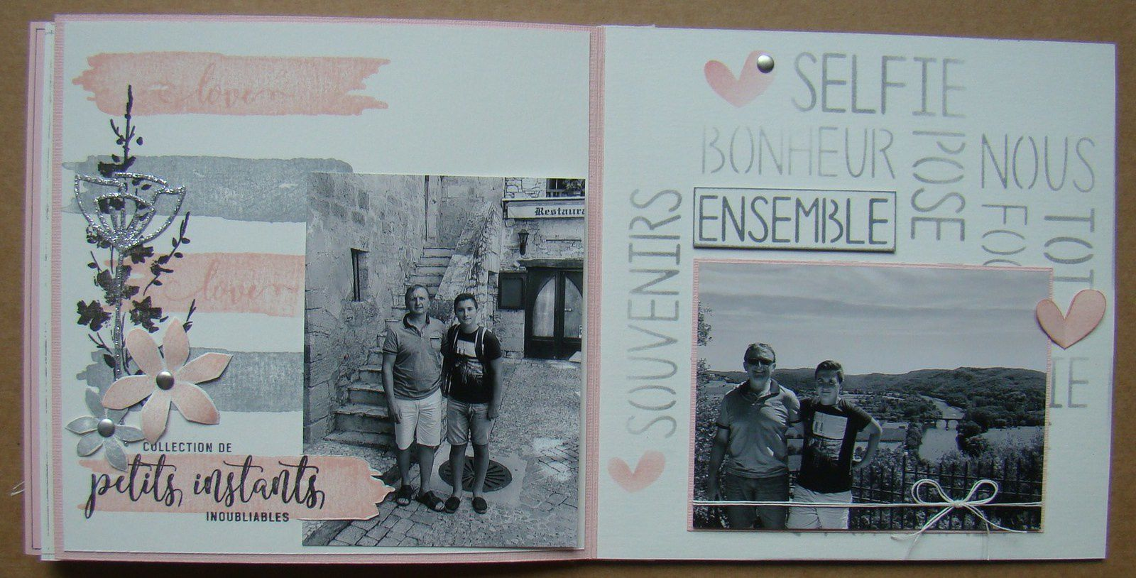 Mon mini version scrap 2017 - Tuto