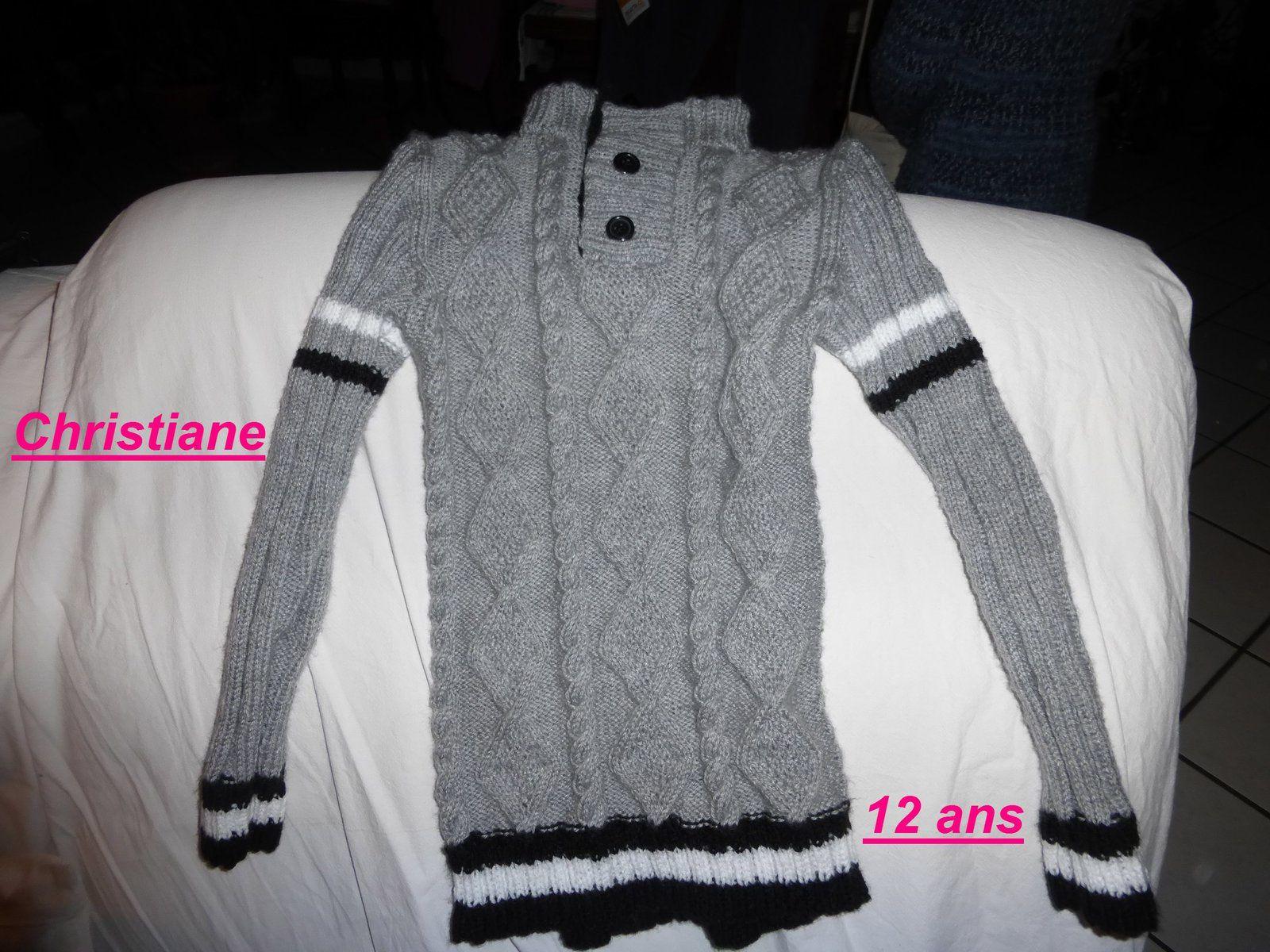 les tricots de Christiane