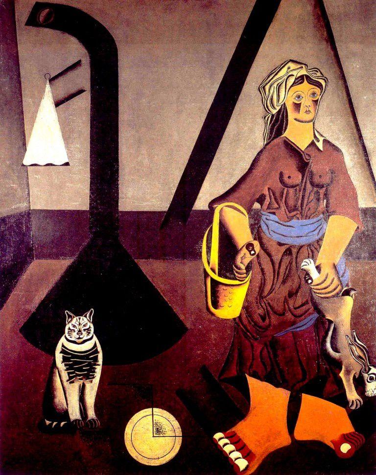 La fermière de Joan Miro