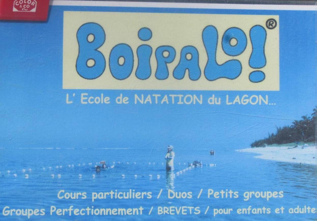 """Séance de natation pour Margaux à l'école de natation du lagon qui s'appelle """"BOIPALO"""". Effectivement, nous espérons qu'elle ne boira pas l'eau!"""