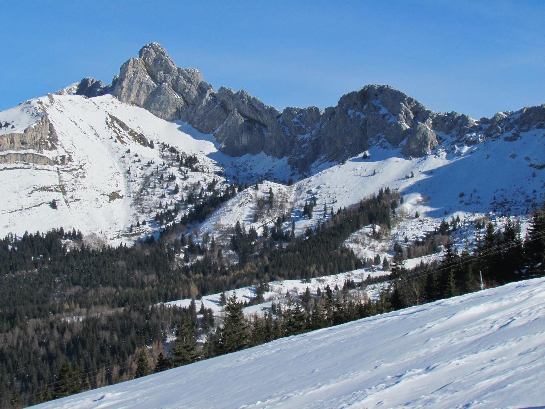Le Cornafion, une classique en ski de randonnée
