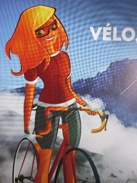 Nous aurons mis 2h30 pour monter tranquillement depuis Valloire. En comparaison, les coureurs du Tour de France mettent 50 mn pour parcourir la même distance!