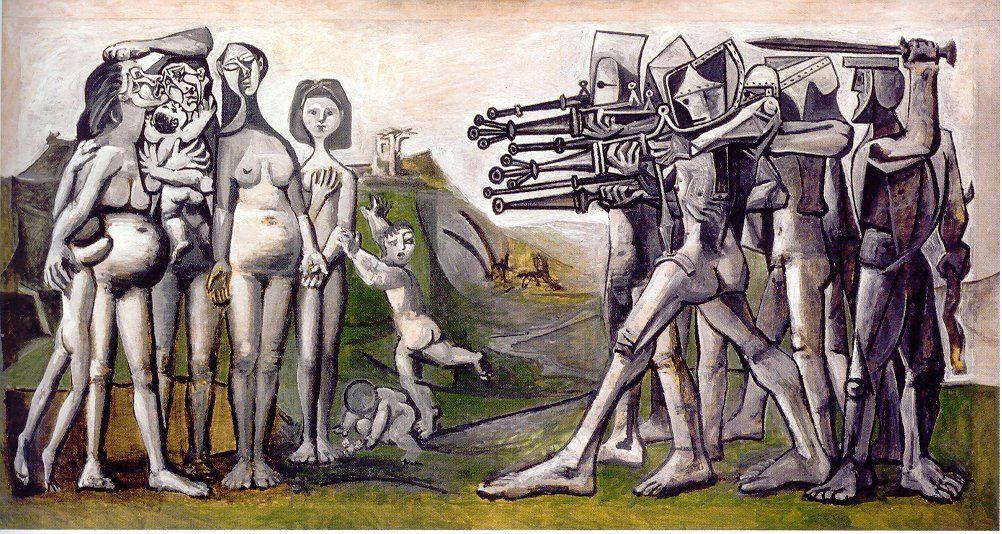 Huile sur contreplaqué, 110 x 210 cm, Musée Picasso, Paris