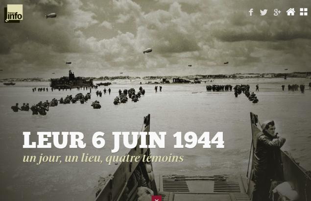 06 juin 1944 : le débarquement en Normandie