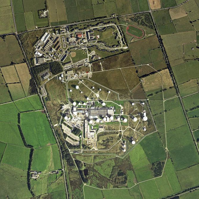 US National Security Agency Signals Intelligence Base Menwith Hill, UK