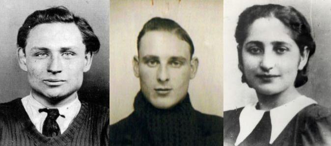 Marcel Rayman, Rino Della Negra, Olga Bancic. Alors que tous les membres du groupe seront fusillés au Mont-Valérien, Olga sera décapitée à la prison de Stuttgart le  10 mai 1944. Elle avait 32 ans.
