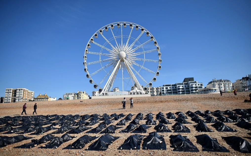 Brighton beach, 22 avril 2015