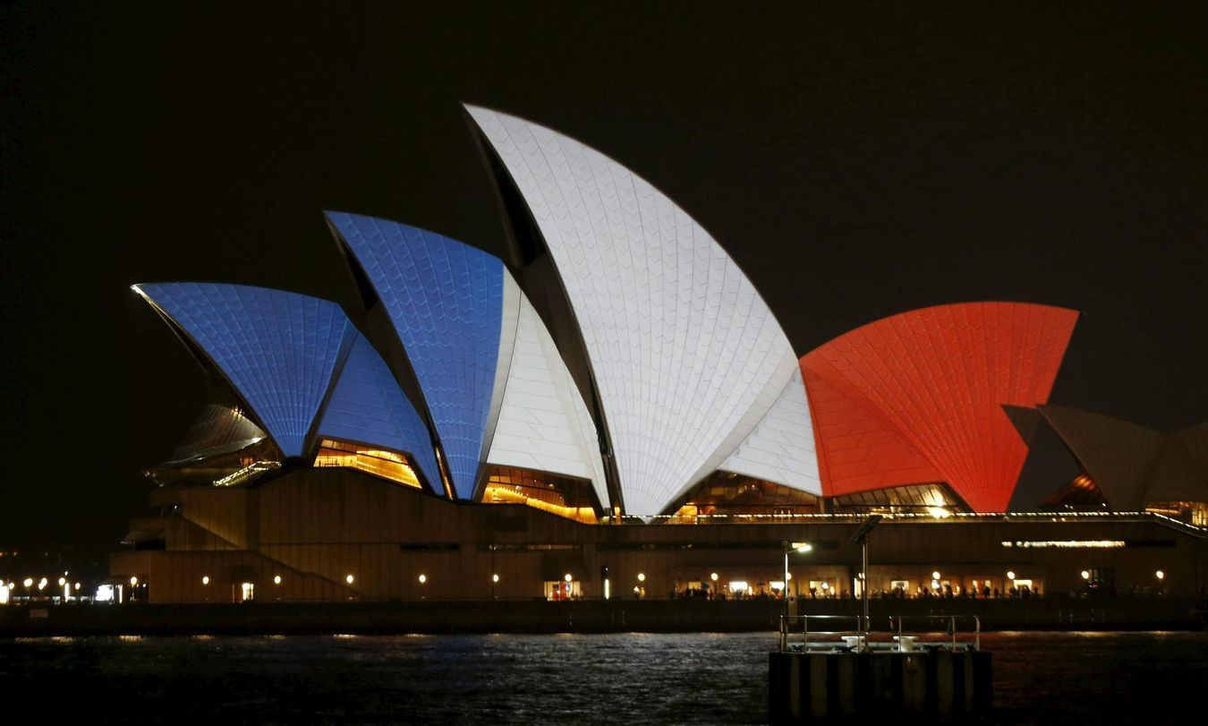 L'opéra de Sydney, en Australie. Photo Jason Reed. Reuters