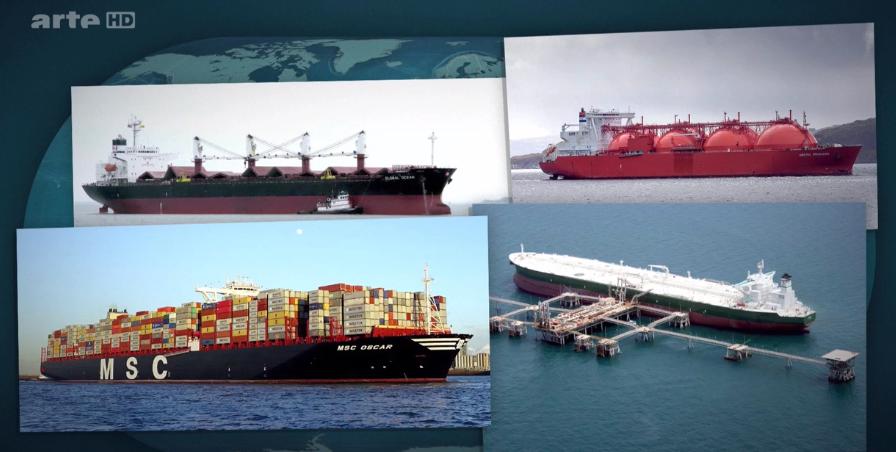 Le transport maritime, coeur de la mondialisation
