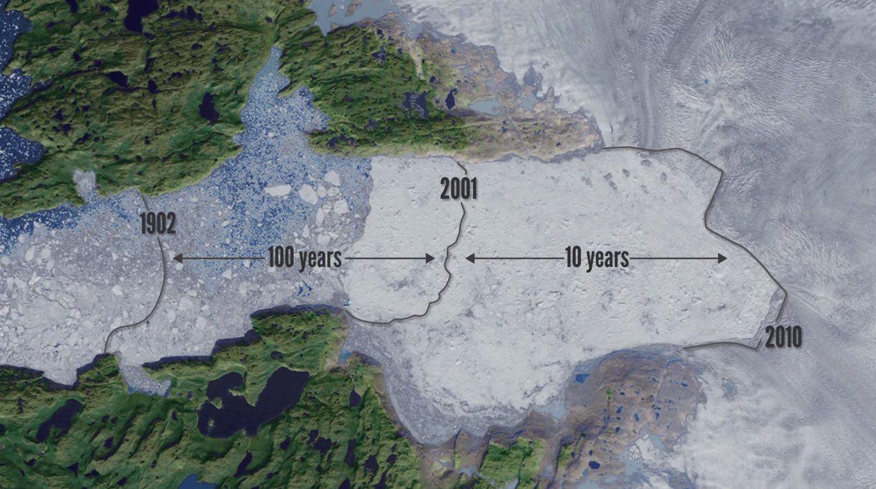 Chasing ice. Climat en péril : la preuve par l'image