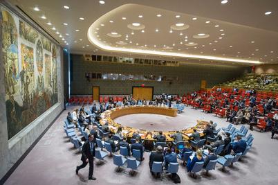 Salle du conseil de sécurité à New York (source : ONU)