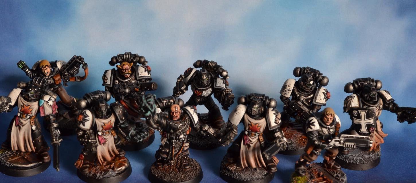 Mes Black Templars, lifting 2015