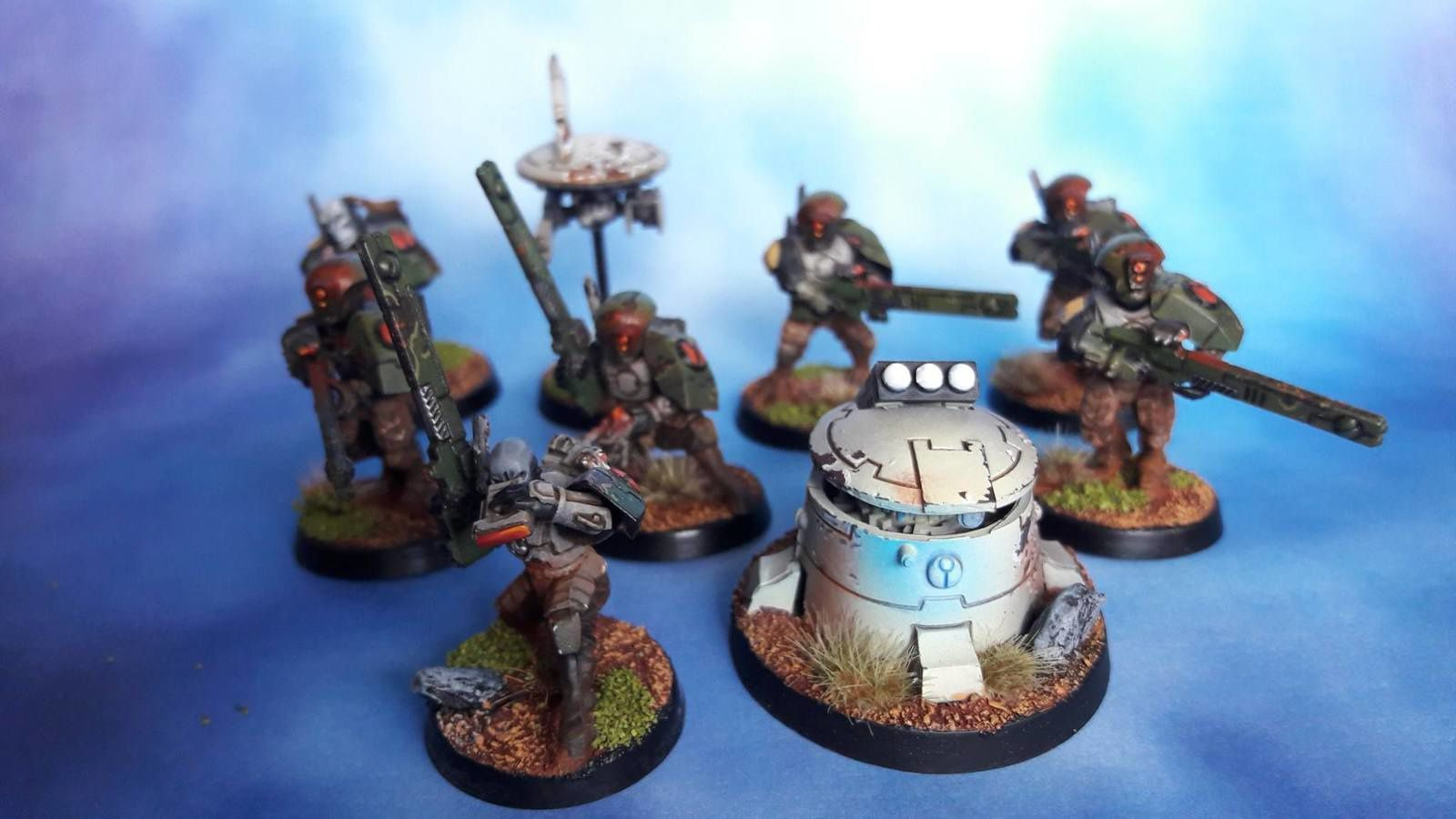 Empire TAU - Mise à jour de l'armée + add on