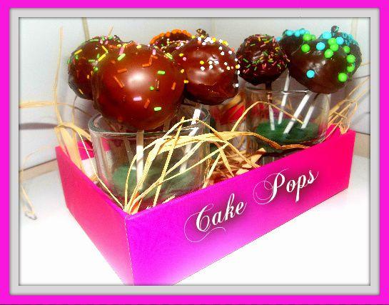 Les cake pops ( recette)