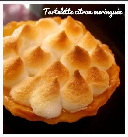 Tartelette citron meringuée (recette)