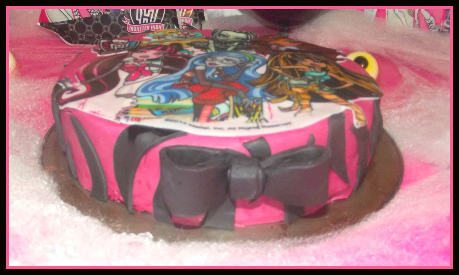 Un anniversaire monstrueux ( avec du Monster High)