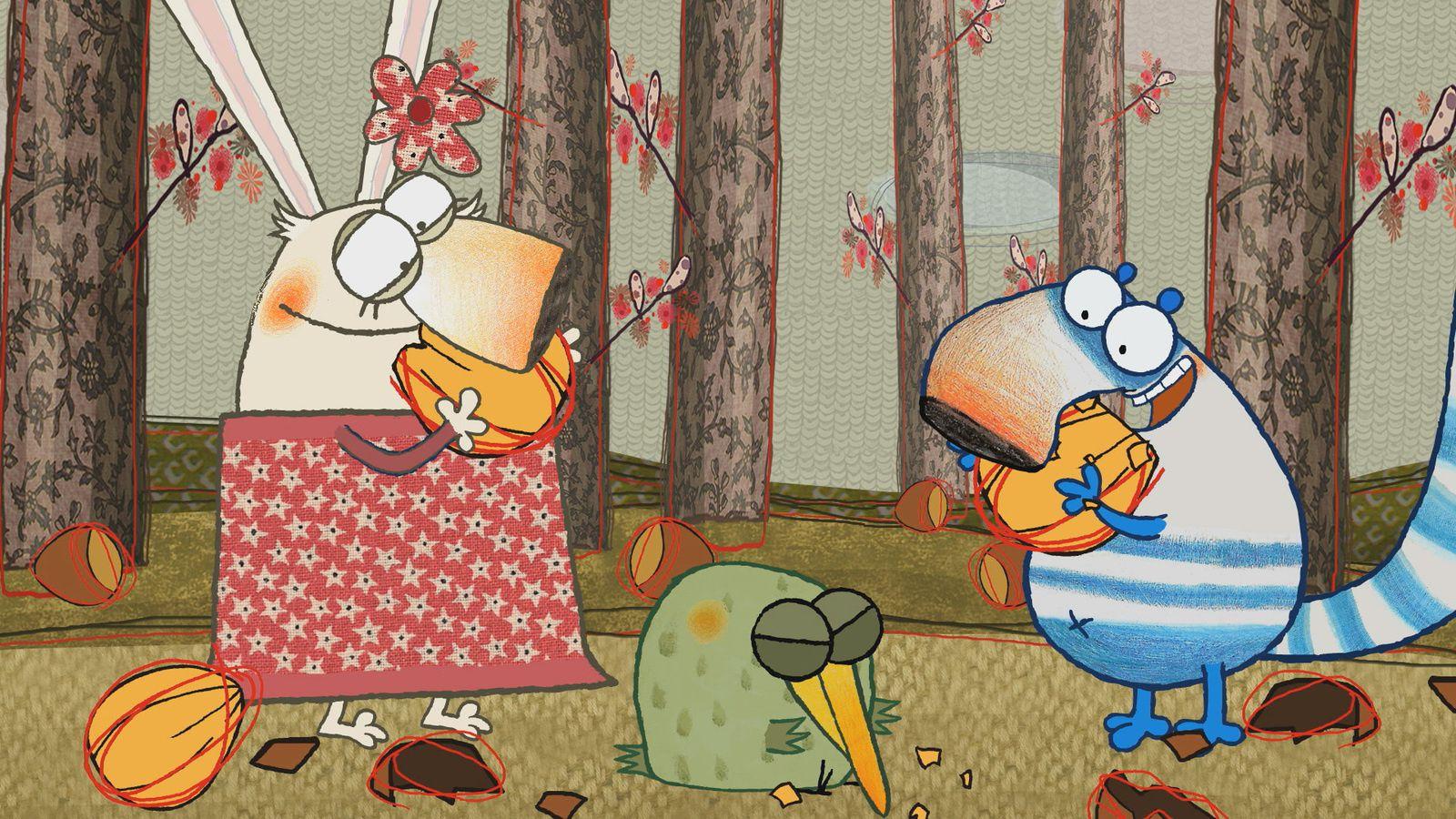 Pipi Pupù &amp&#x3B; Rosemarie , le dessin animé des tout-petits #test