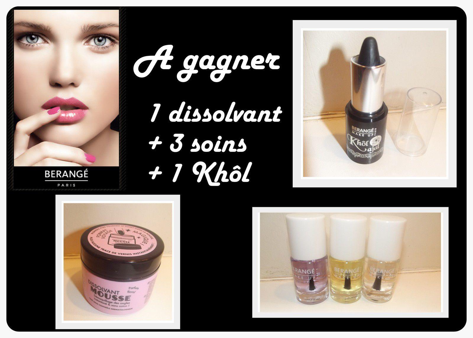 [resultat] Se faire belle avec Bérangé make up #test #concours