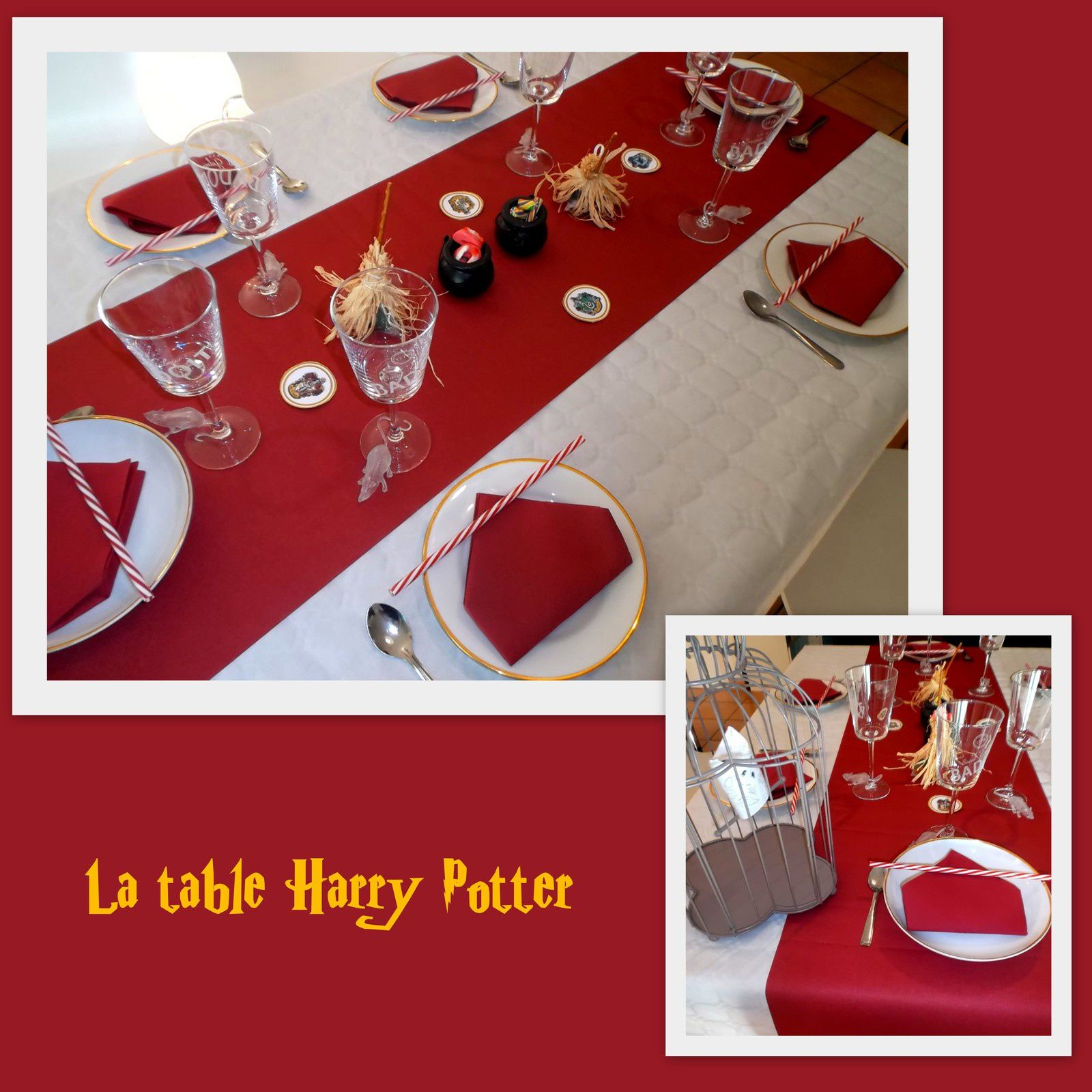anniversaire sur le th me harry potter les micmacs de. Black Bedroom Furniture Sets. Home Design Ideas