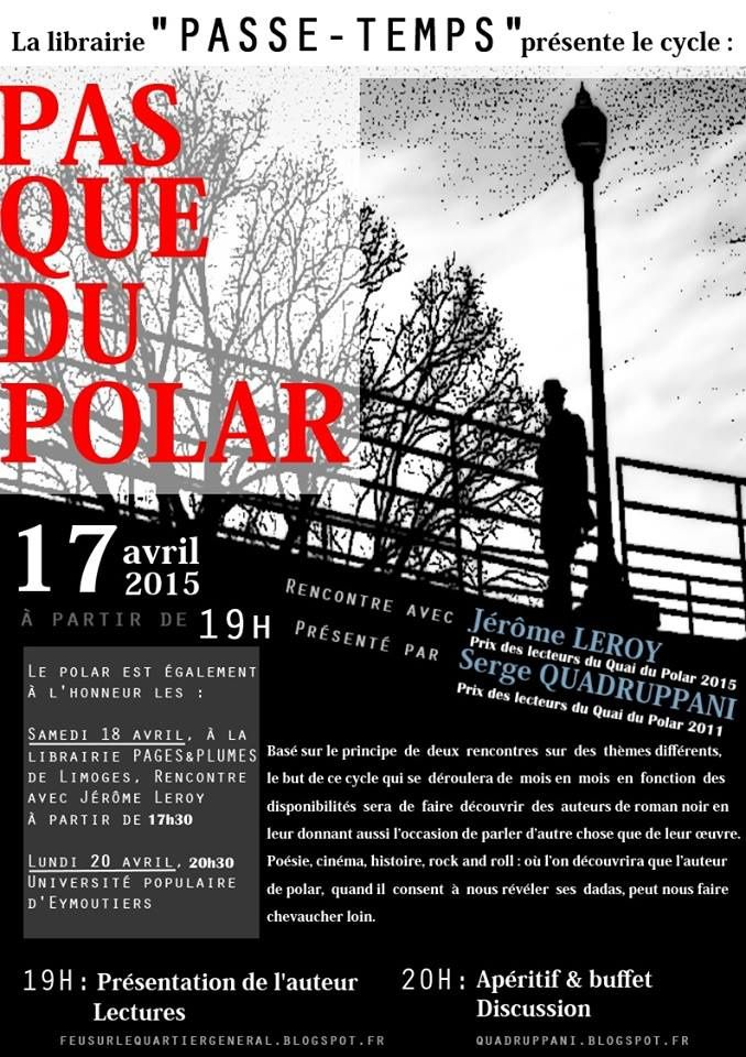Rencontres en Limousin -17, 18 et 20 avril