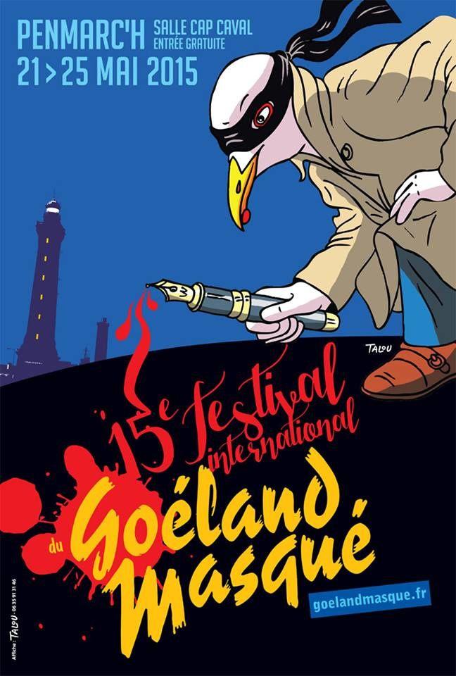 15e édition du Goéland Masqué, avec 813