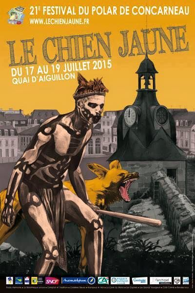 Le chien jaune -Concarneau- du 17 au 19 juillet