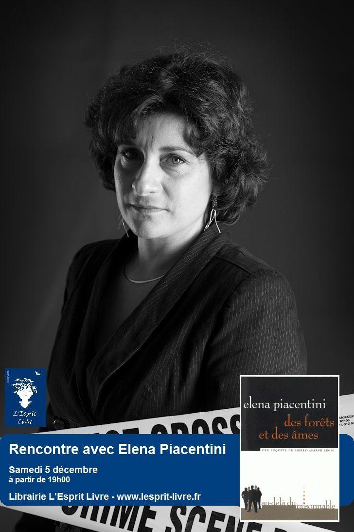 Inscriptions pour la rencontre avec Éléna Piacentini jusqu'au 25 novembre