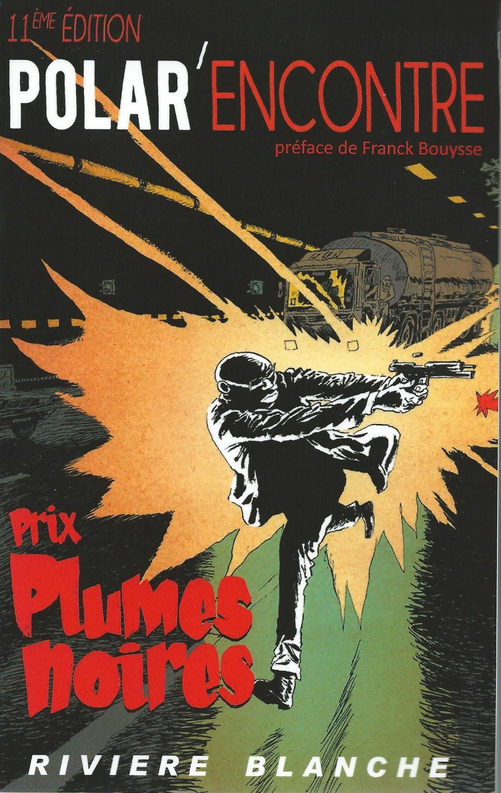 L'éditeur Philippe Ward comme tous les ans a publié les nouvelles du Prix Plumes Noires