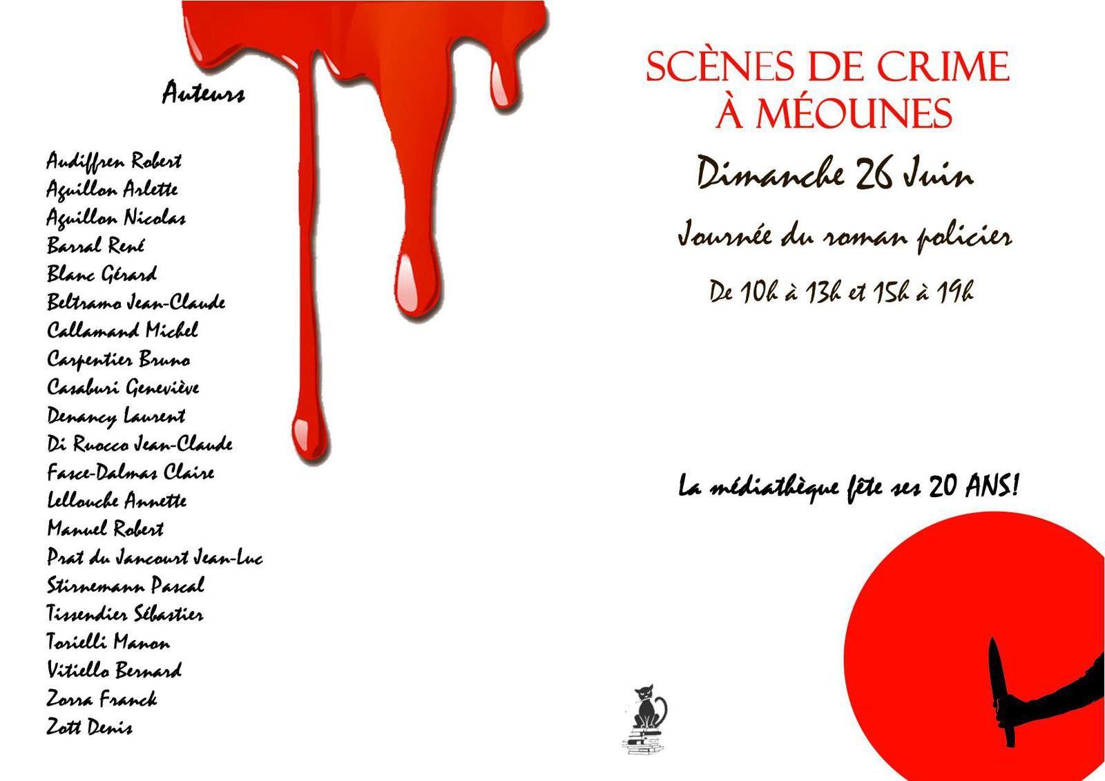 26 juin - scènes de crime à Méounes