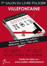 1er octobre- Premier salon du livre policier de Villefontaine (38)