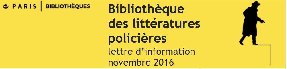 Quoi de neuf à la BILIPO en novembre 2016 ?