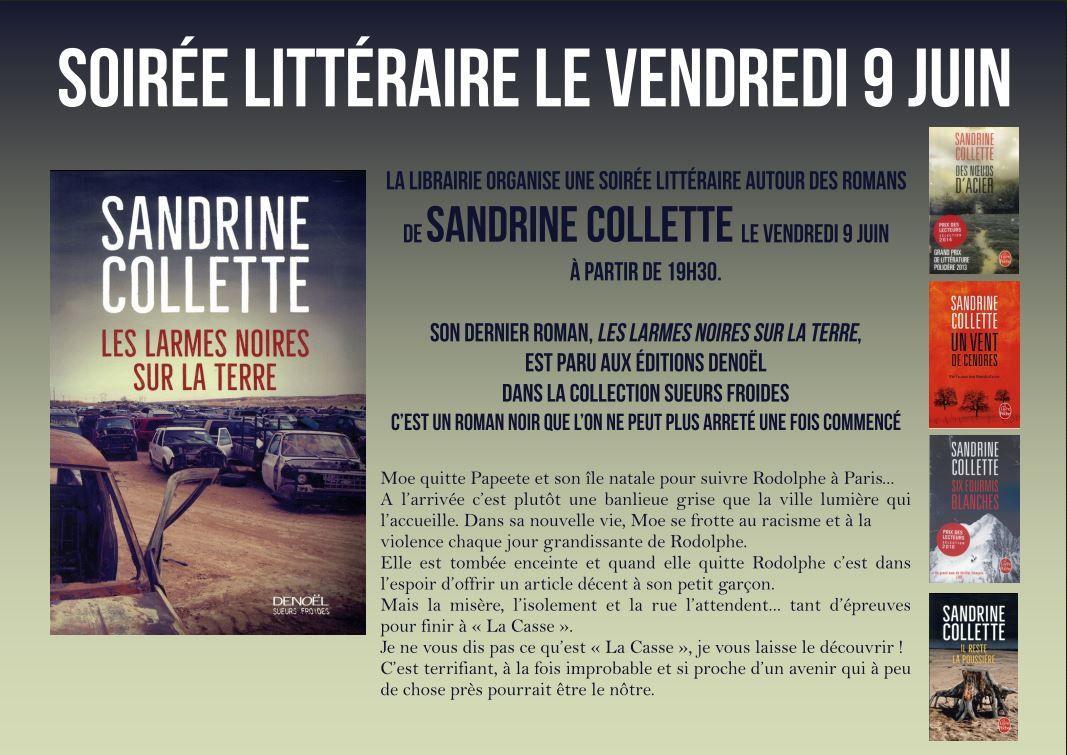 Rencontres littéraires début juin