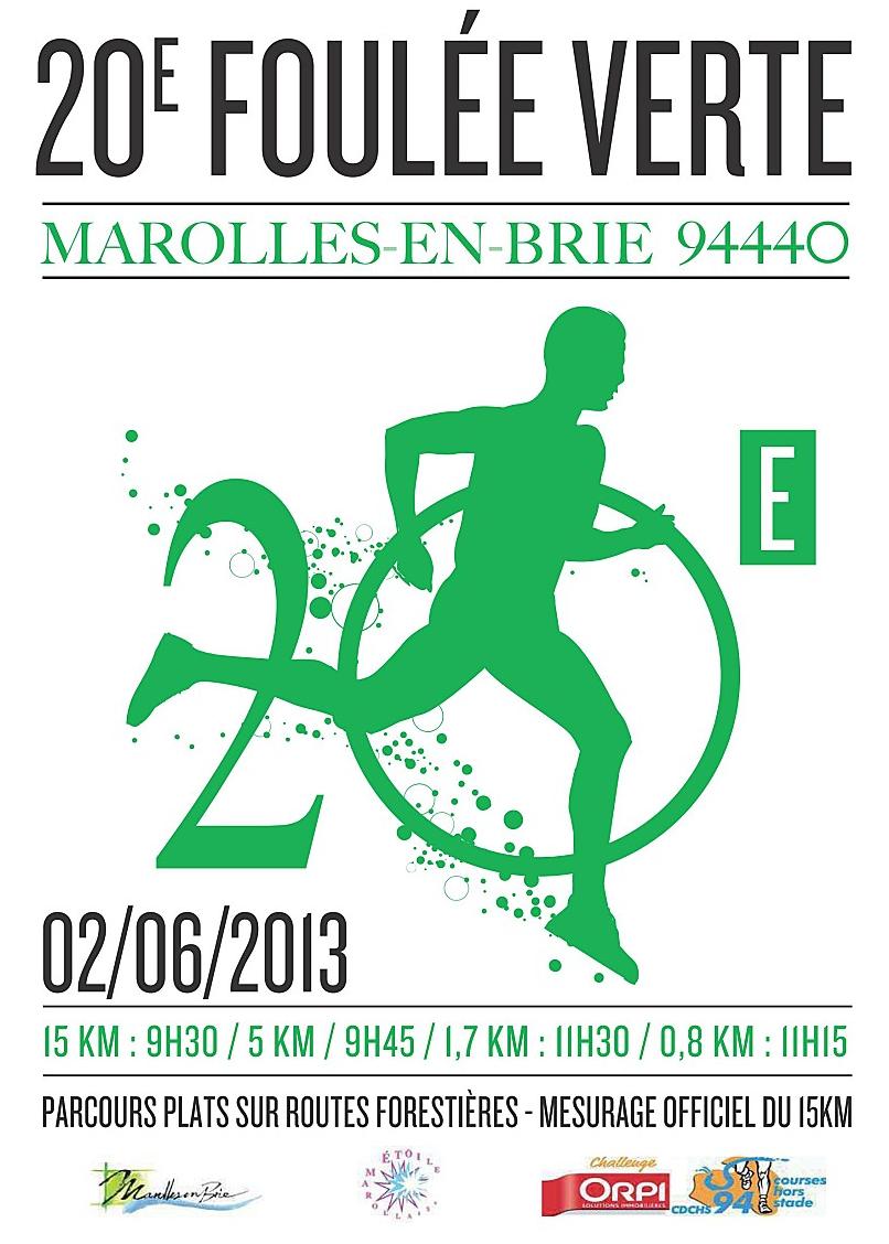 La 20ème édition de la Foulée Verte de Marolles-en-Brie: vive la gadoue!