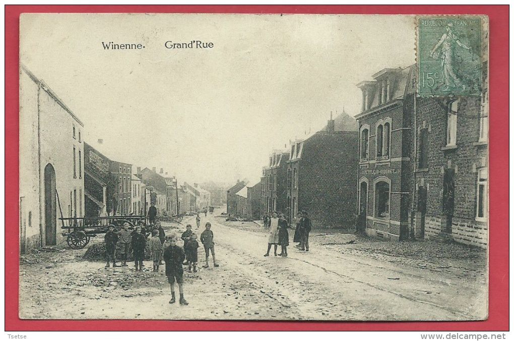 Winenne 1921 et 1909.....