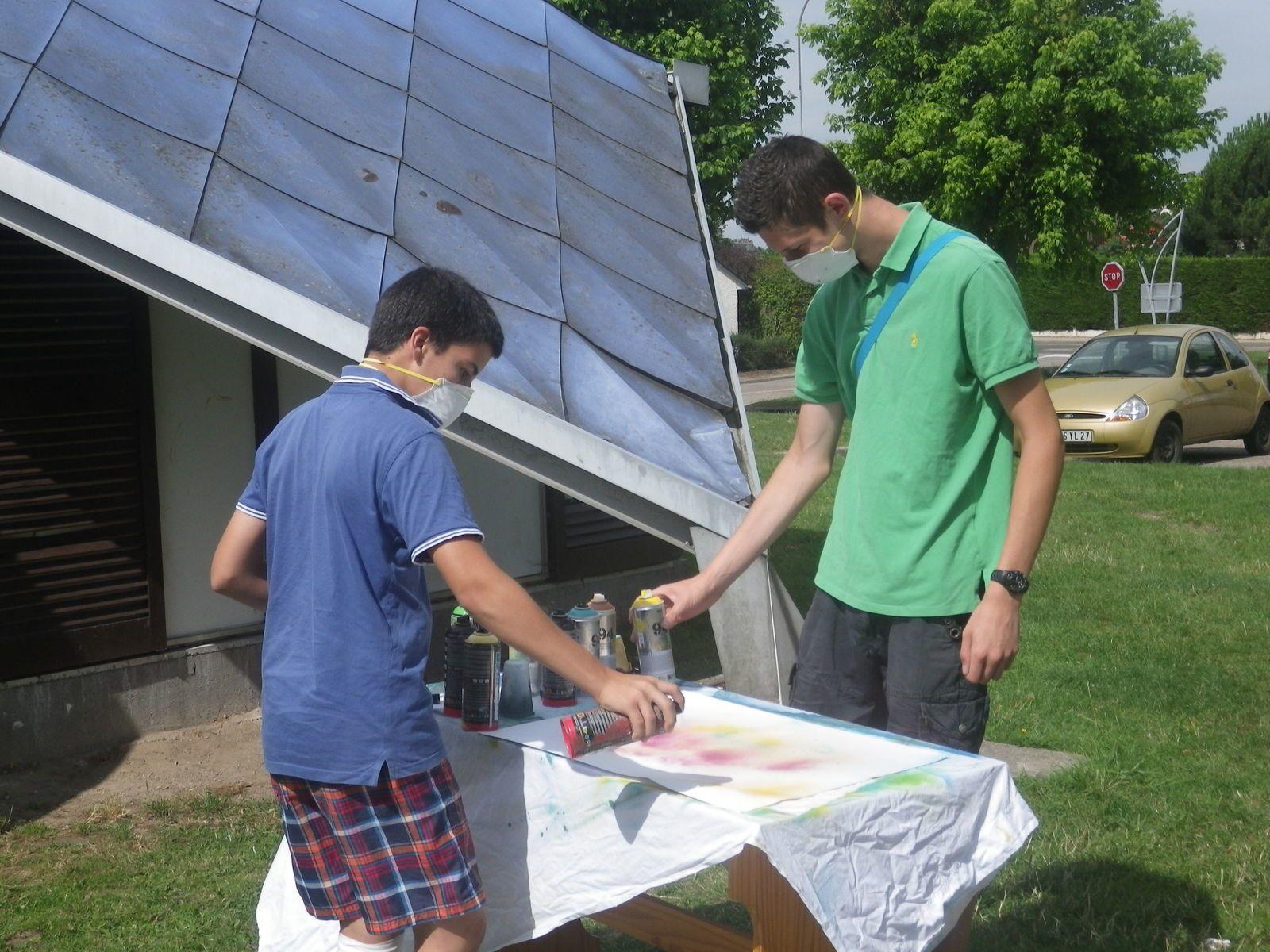 Différentes activités de l'Espace jeunesse (cliché Armand Launay, de 2010 à 2013).