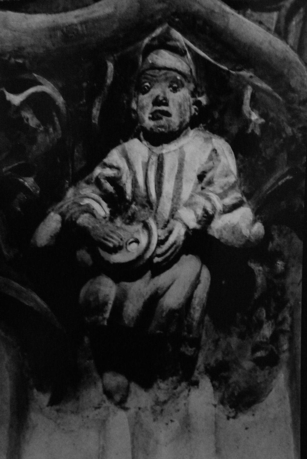 Le mâqueu d' soupe (statuette de Notre-Dame de Louviers)