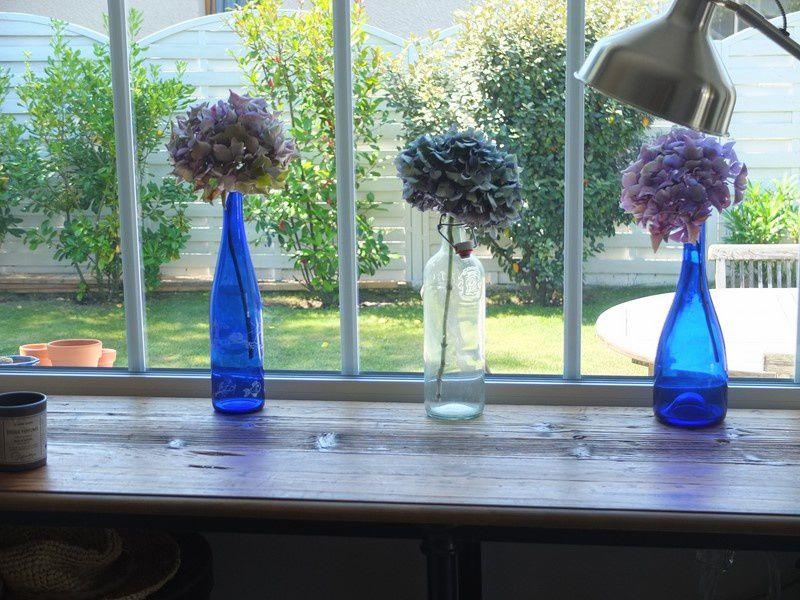 Les fleurs bleues de la Maison bleue....... et pas que ...
