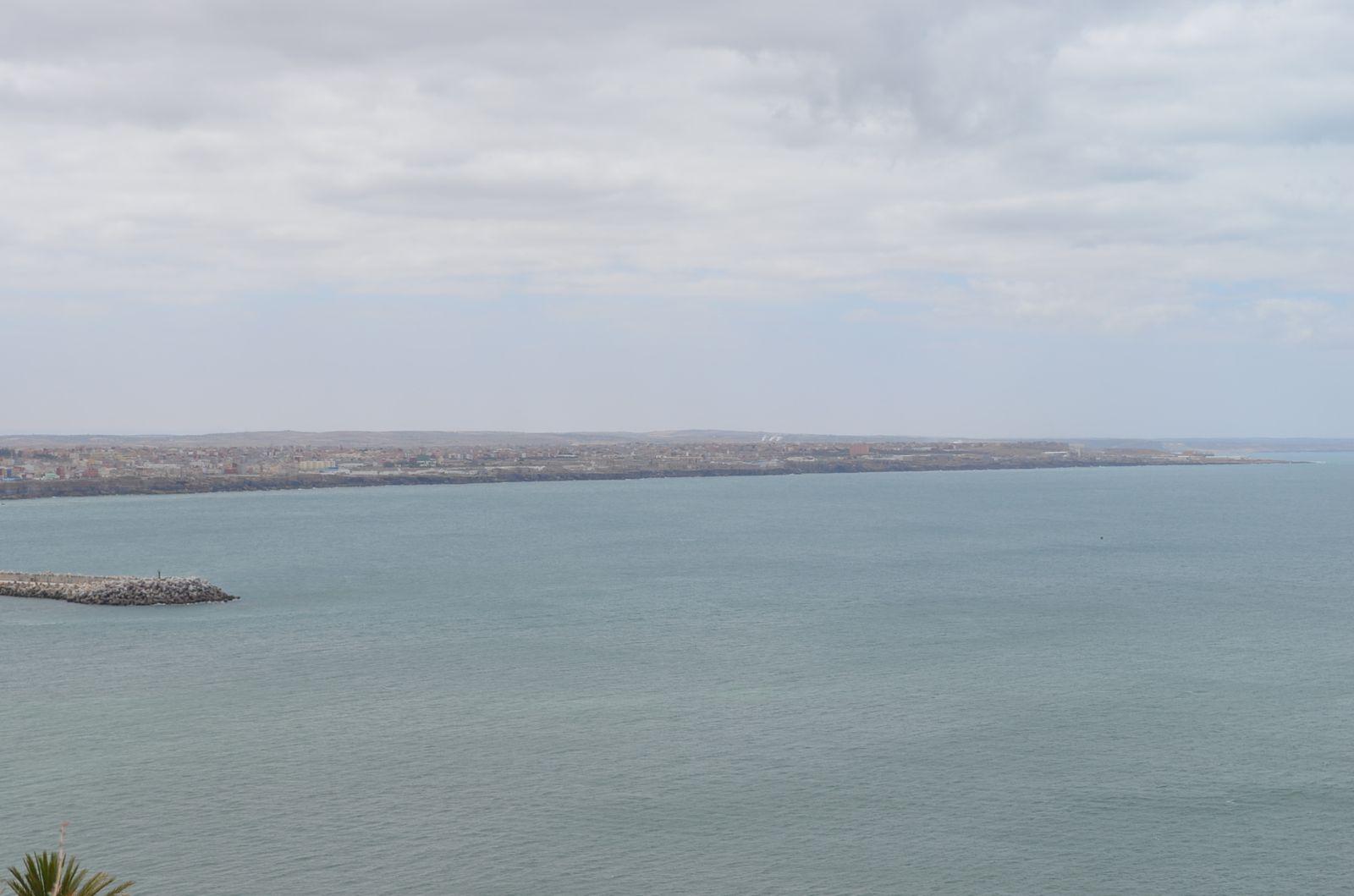 DEPART DE SAFI POUR OUALIDIA... TOUJOURS SUR LA CÔTE ATLANTIQUE