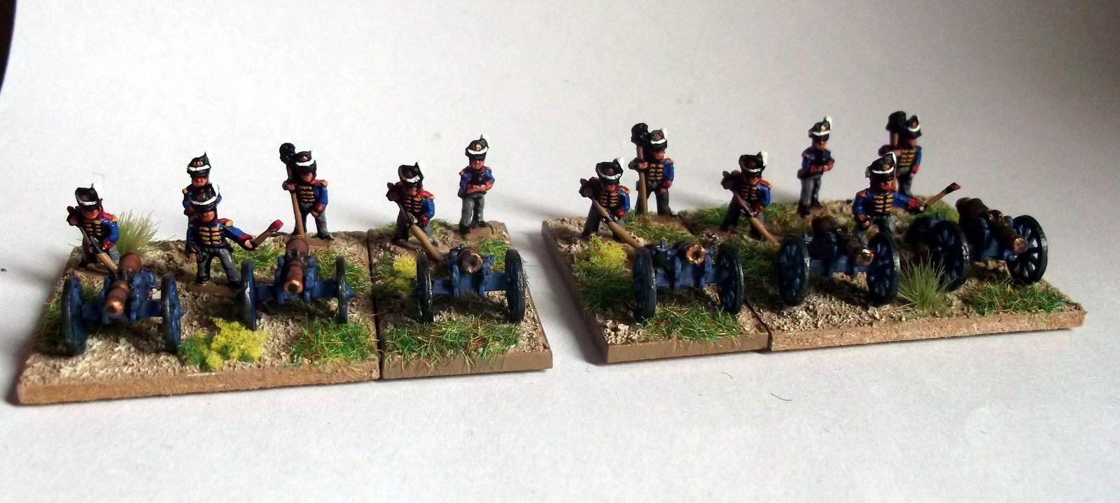 &quot&#x3B;Waterloo 2015&quot&#x3B; : L'artillerie à pied anglaise.