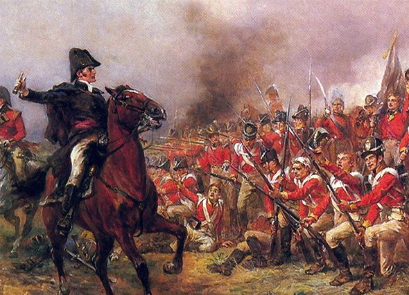 &quot&#x3B;Waterloo 2015&quot&#x3B; : Arthur Wellesley, duc de Wellington.
